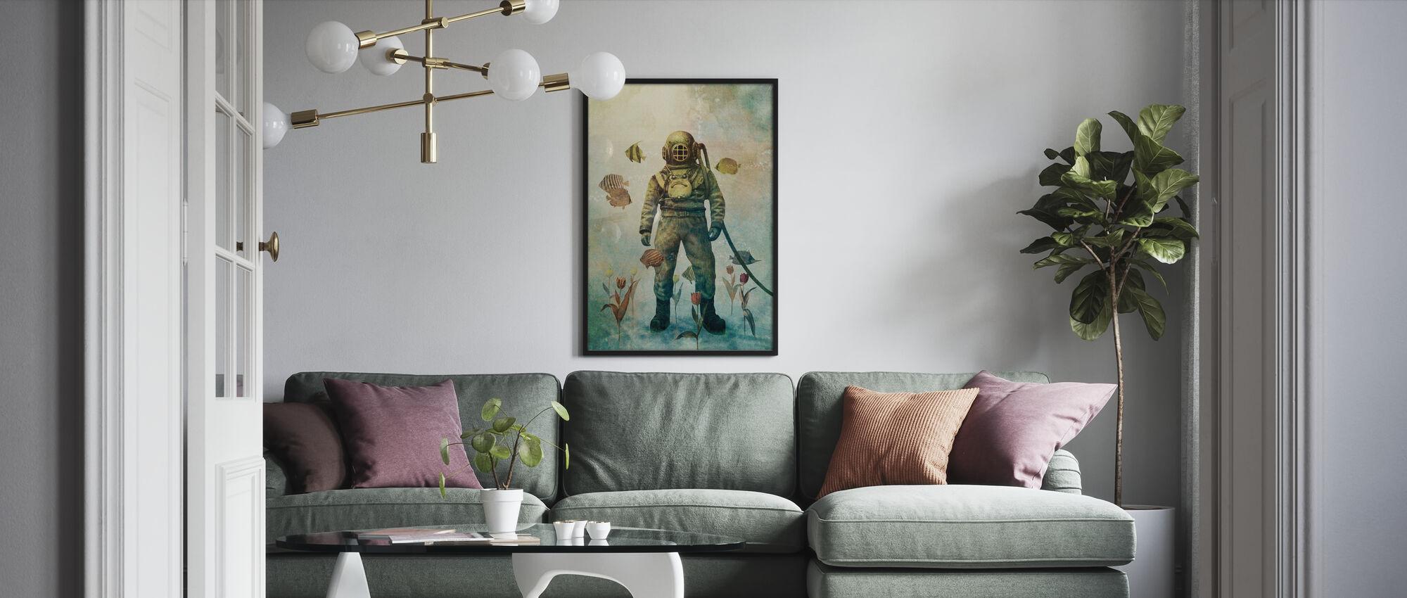 Tiefseegarten - Poster - Wohnzimmer
