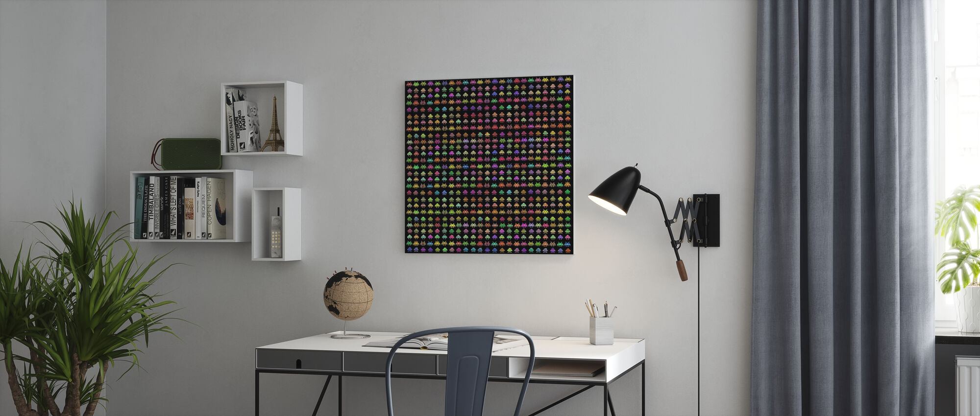 Fashionable Invaders - Canvas print - Office