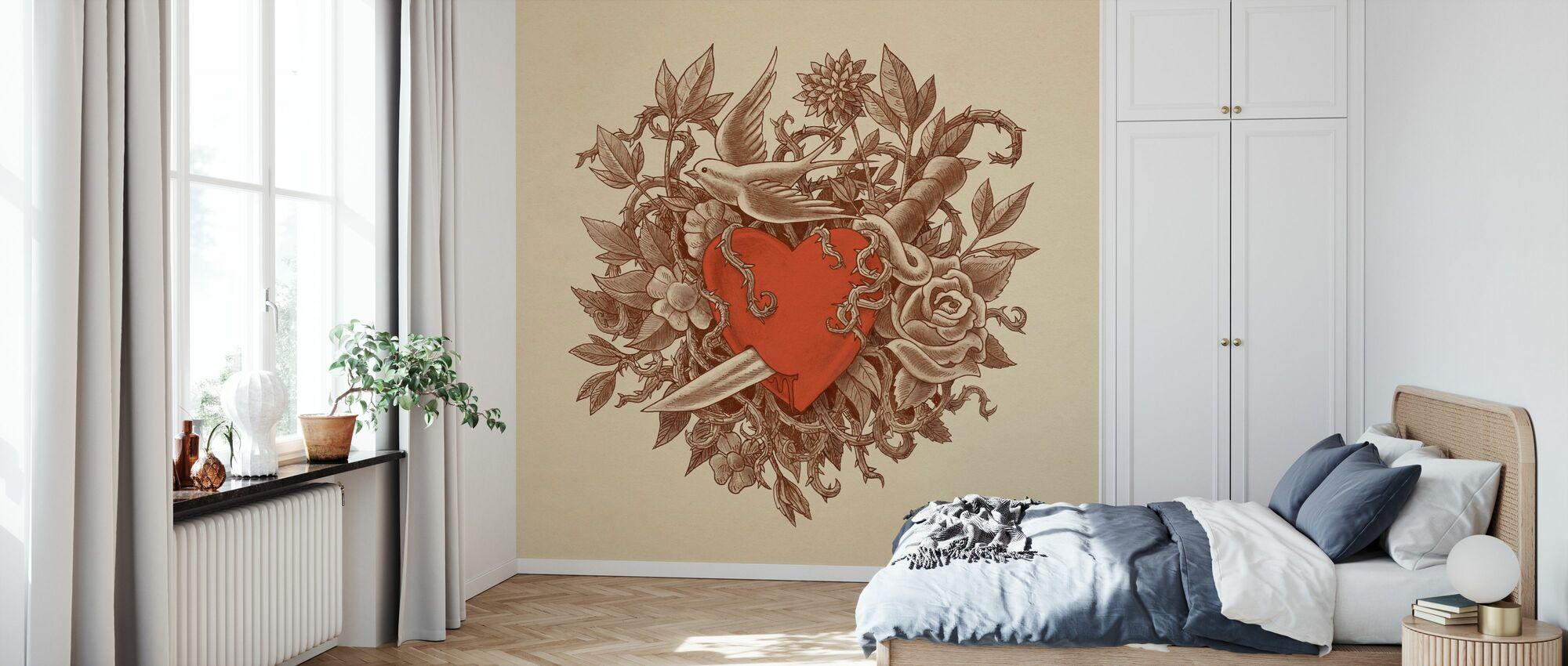 Heart of Thorns - Wallpaper - Bedroom