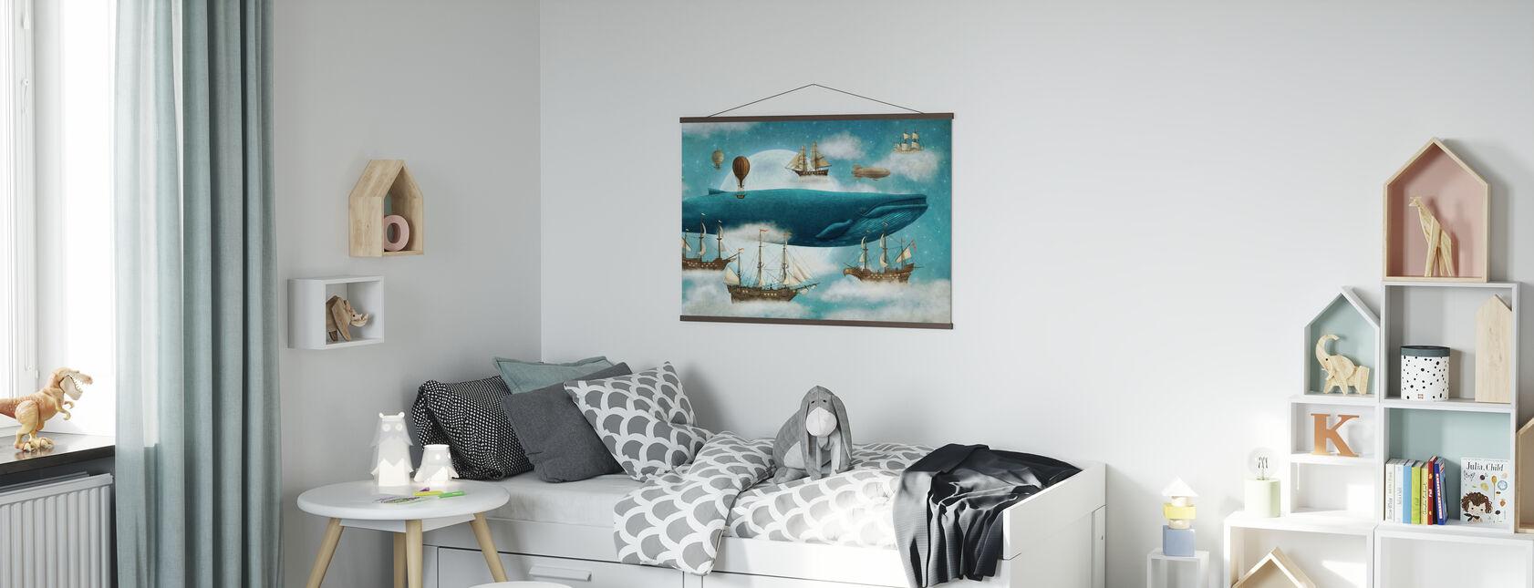 Ocean Meets Sky - Poster - Kids Room