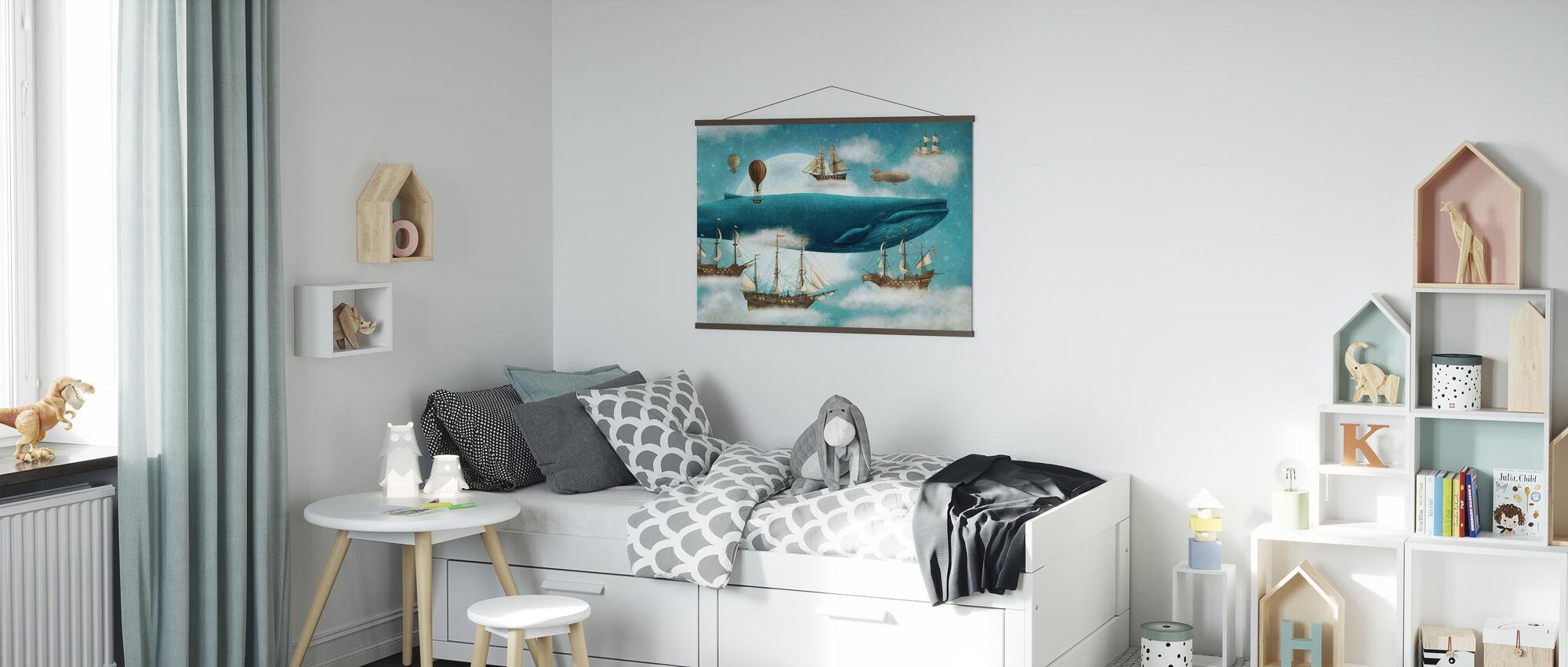 Oceaan ontmoet hemel - Poster - Kinderkamer