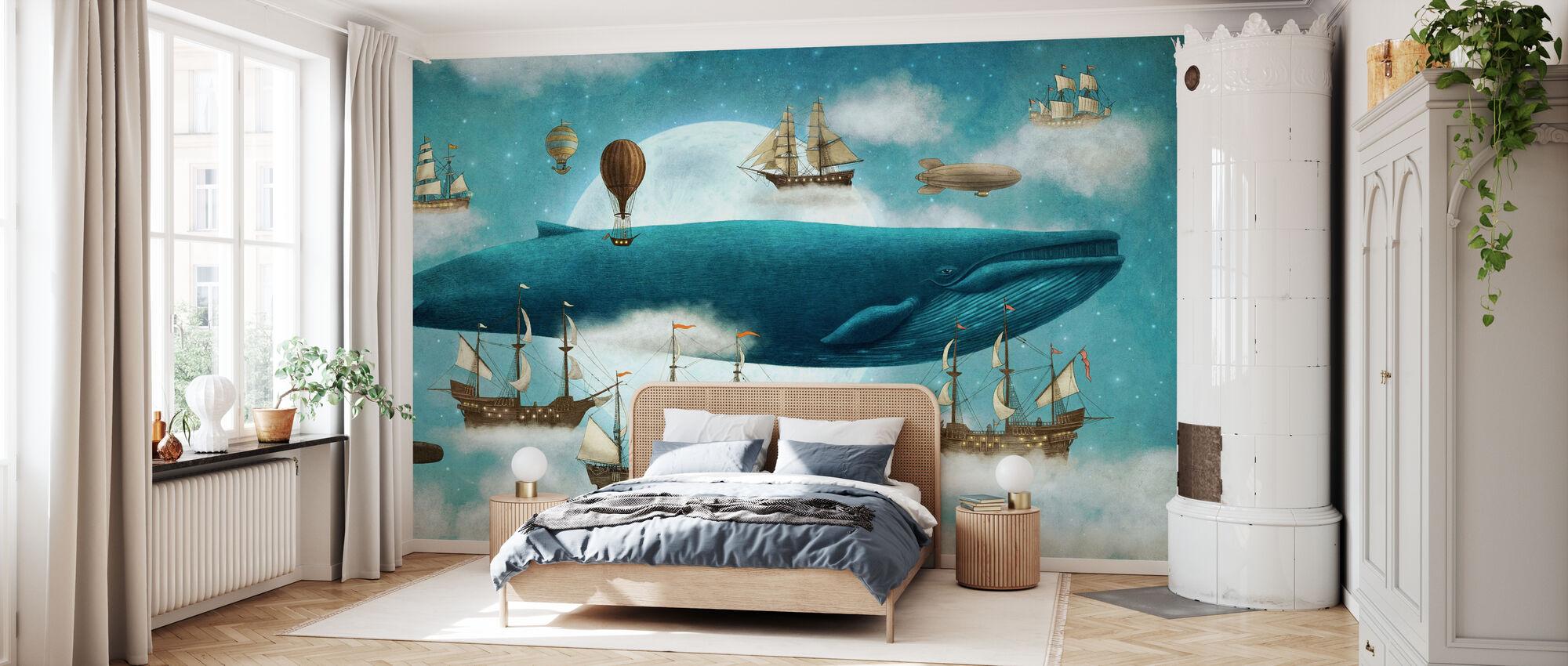 Ocean Meets Sky - Wallpaper - Bedroom