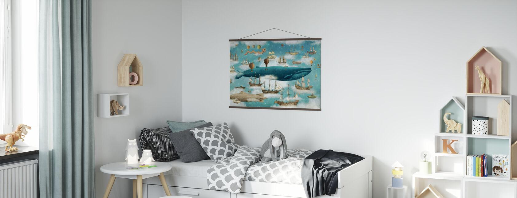 Ocean Meets Sky Cover - Affiche - Chambre des enfants