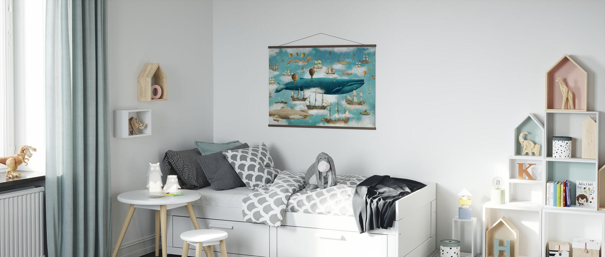 Ocean Meets Sky Cover - Poster - Kids Room