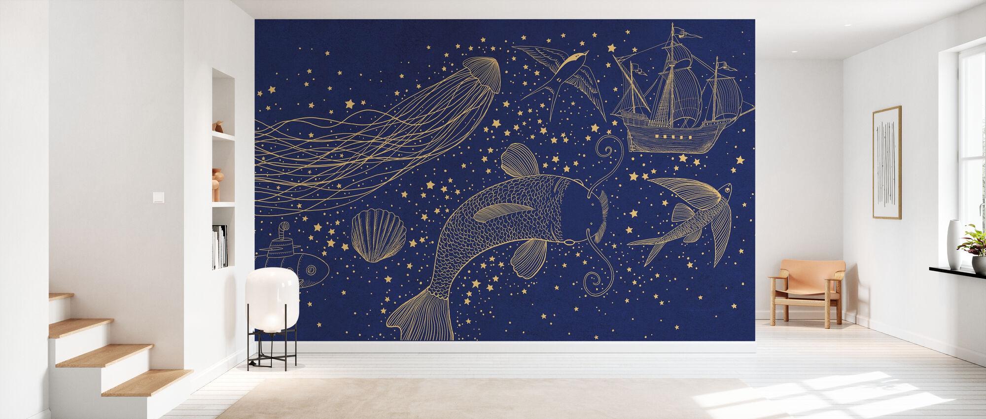 Ocean Meets Sky Hardcase - Wallpaper - Hallway