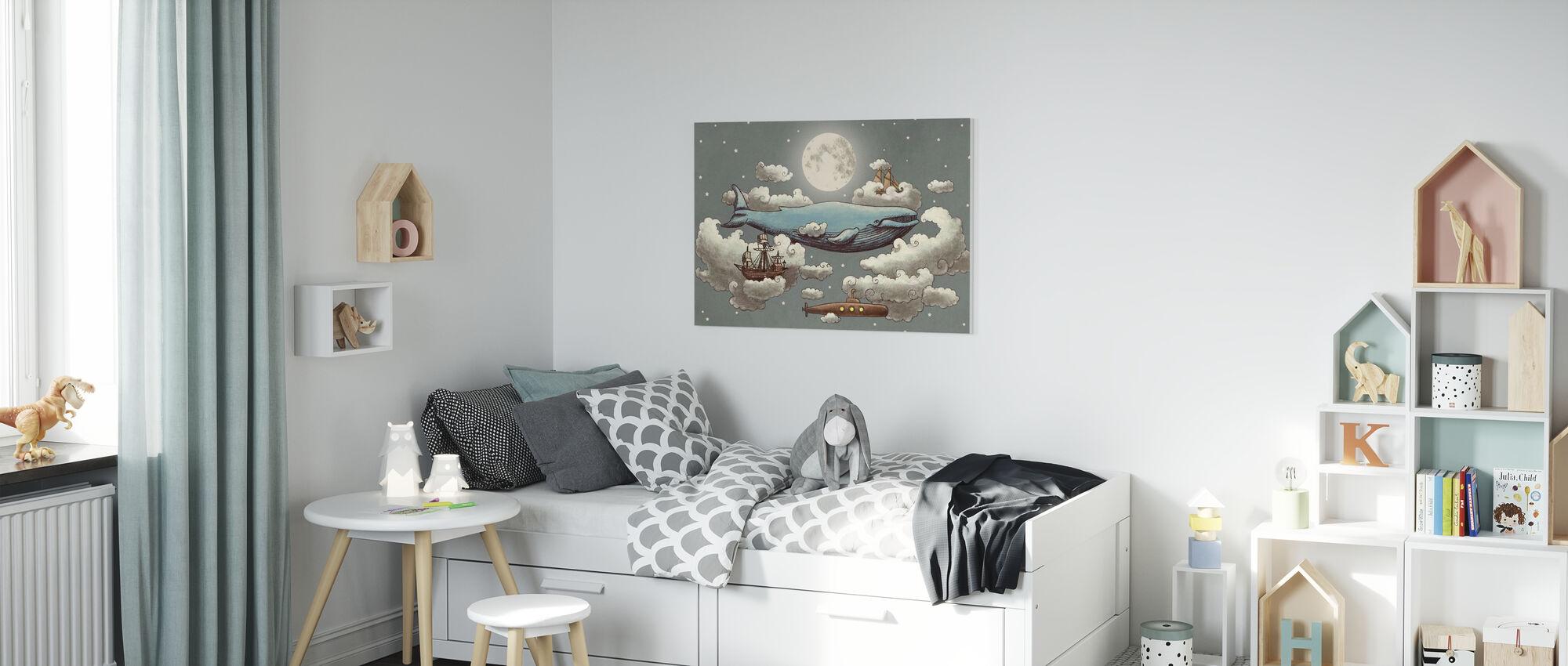 Ocean Meets Sky Original - Canvas print - Kids Room