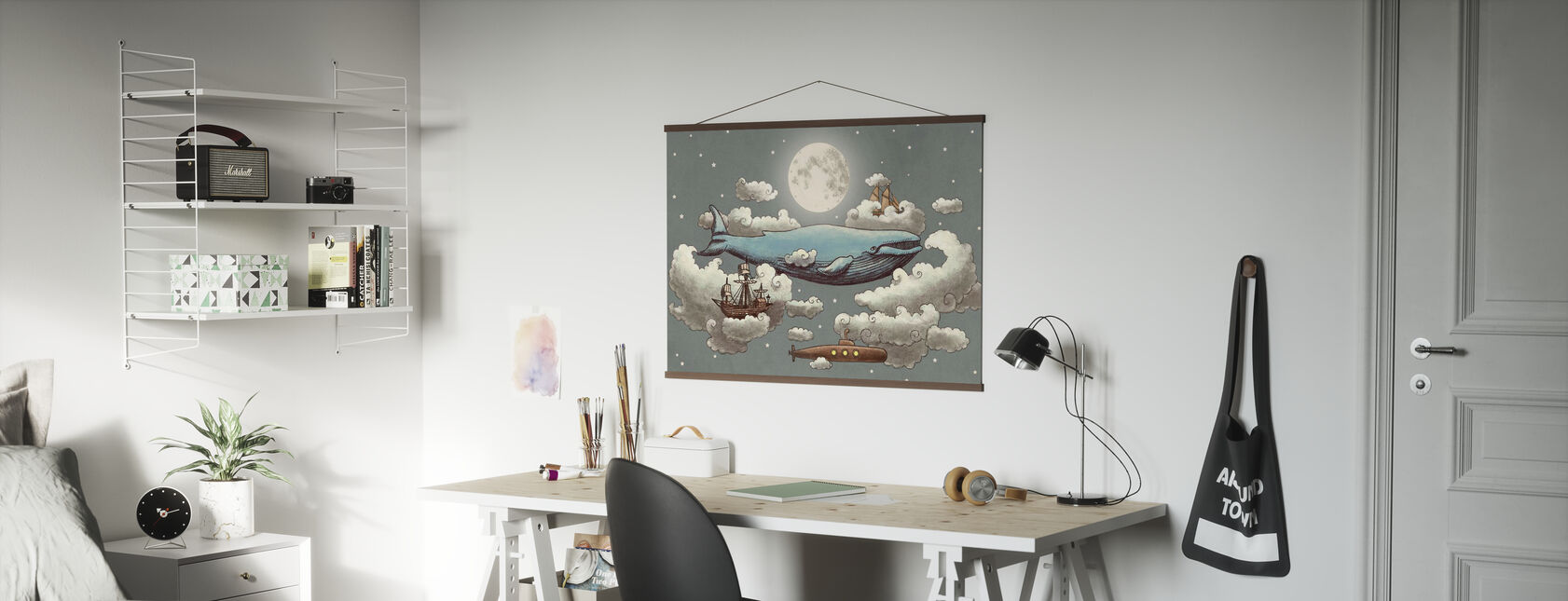 Ocean Meets Sky Original - Poster - Office