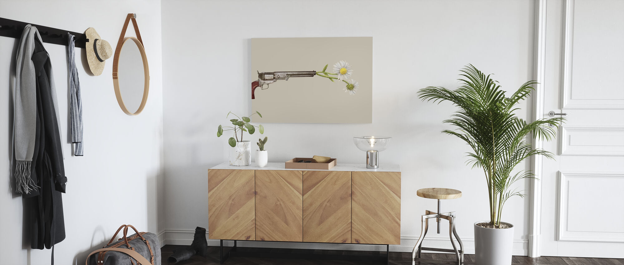 Peacemaker - Canvas print - Hallway