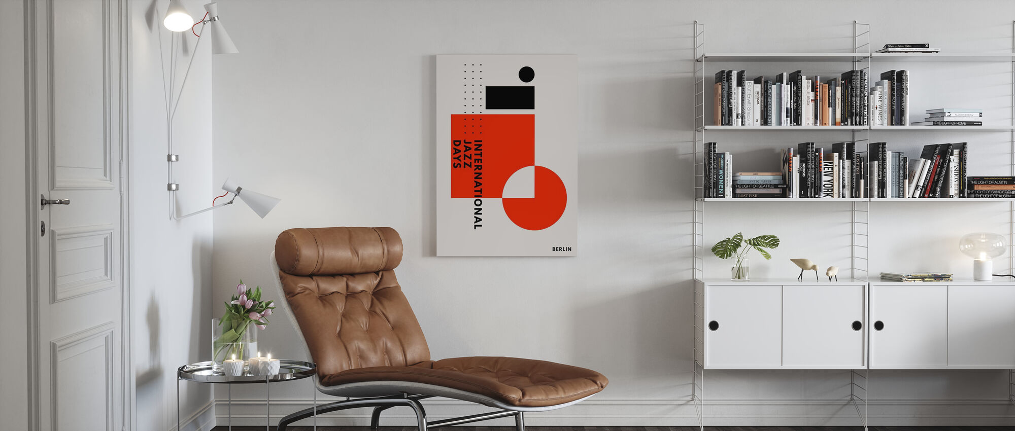 Jazz Days Berlin - Canvas print - Living Room