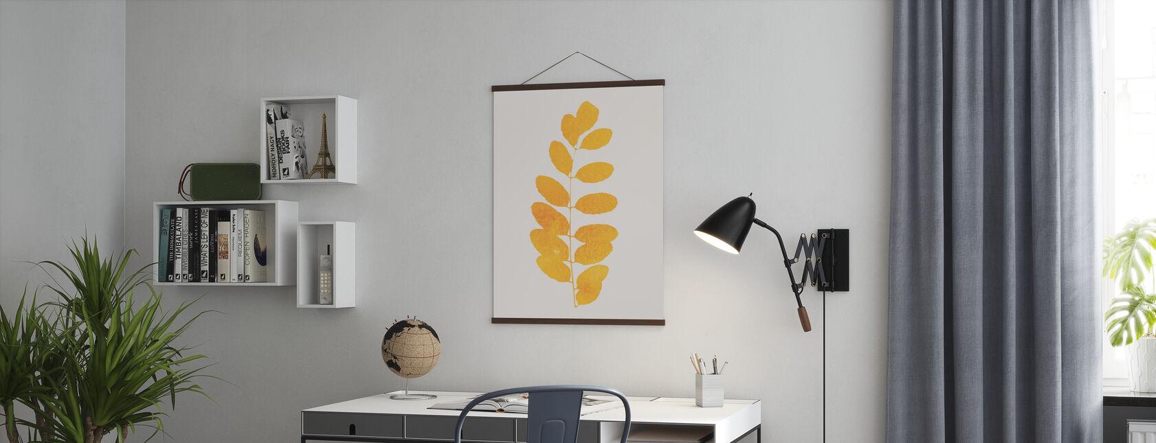 Blad - Amarillo - Plakat - Kontor