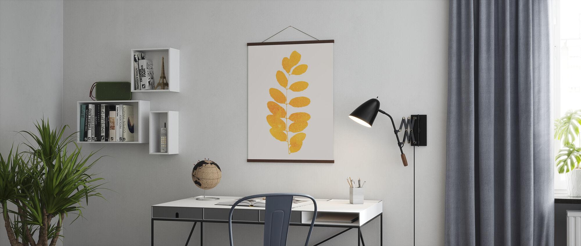 Leaf - Amarillo - Poster - Office