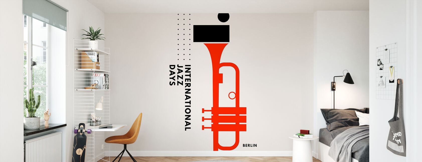 Jazz Days Berlin - Wallpaper - Kids Room