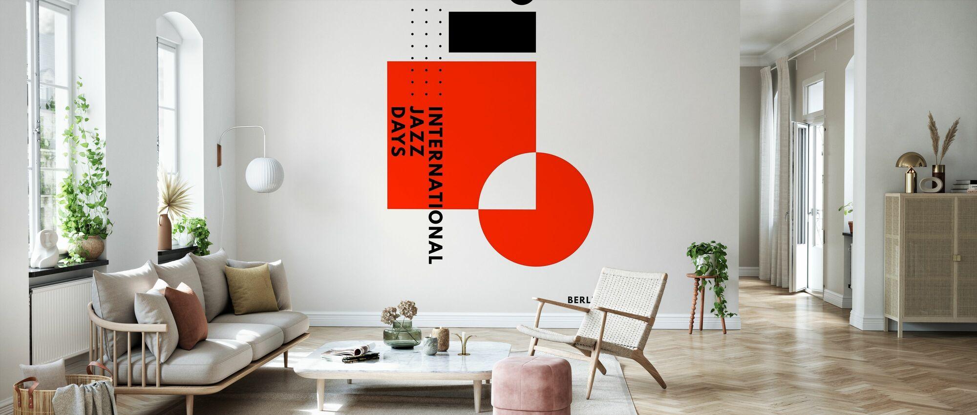 Jazz Days Berlin - Wallpaper - Living Room