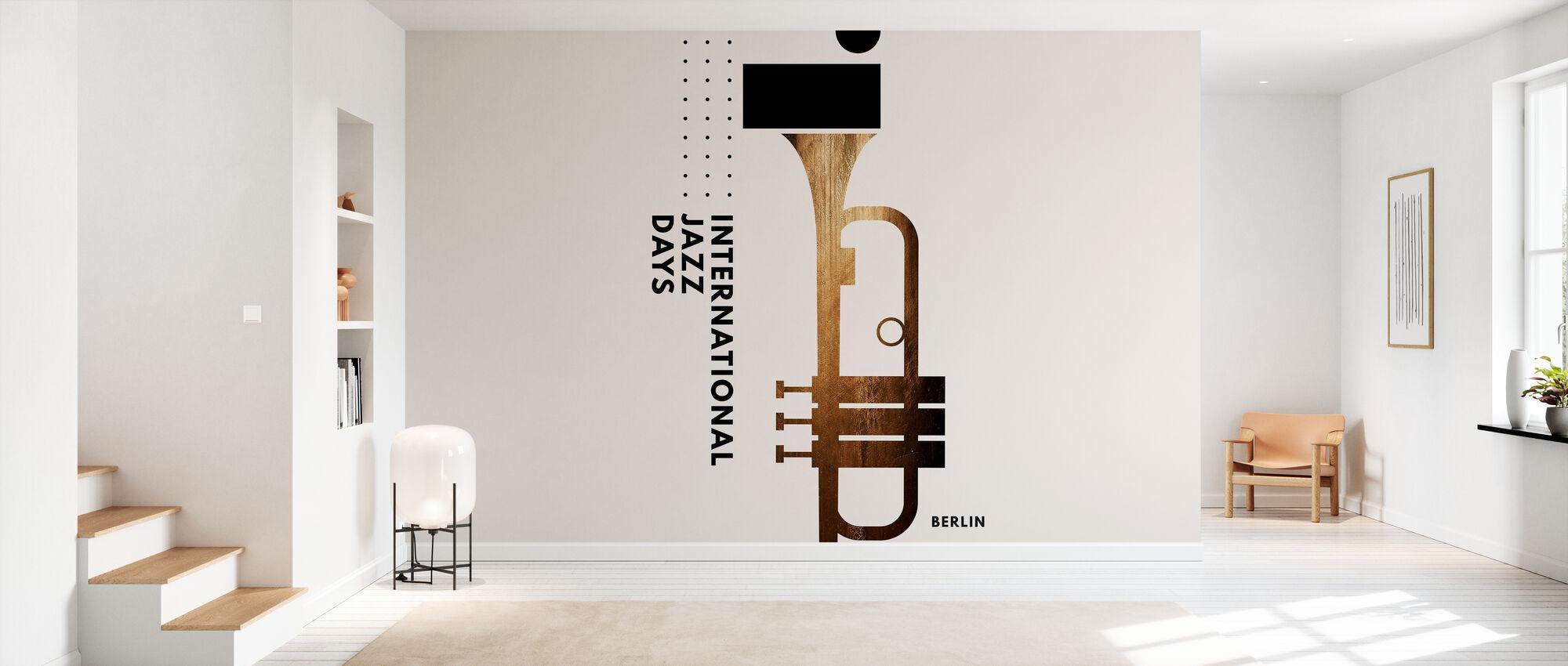 Jazzy Days - Wallpaper - Hallway