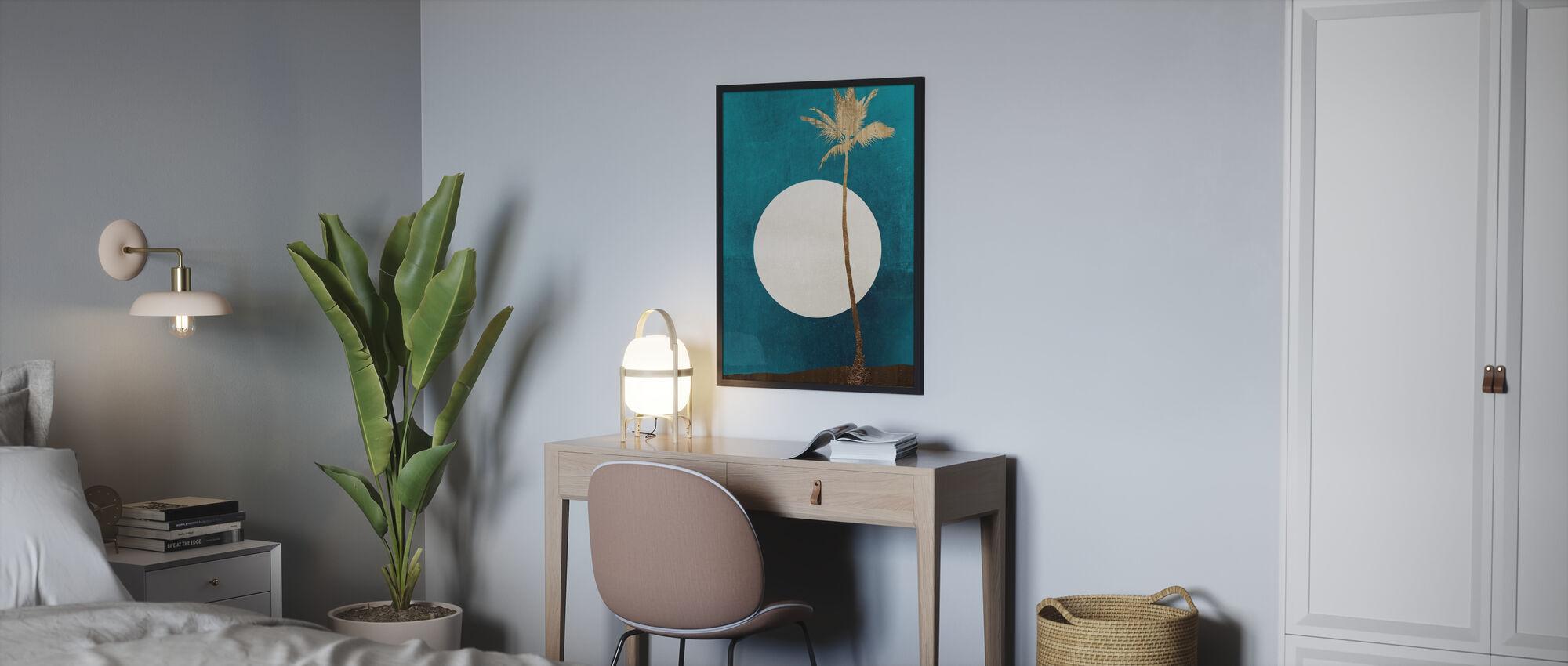 Karibischen Träume - Gerahmtes bild - Schlafzimmer