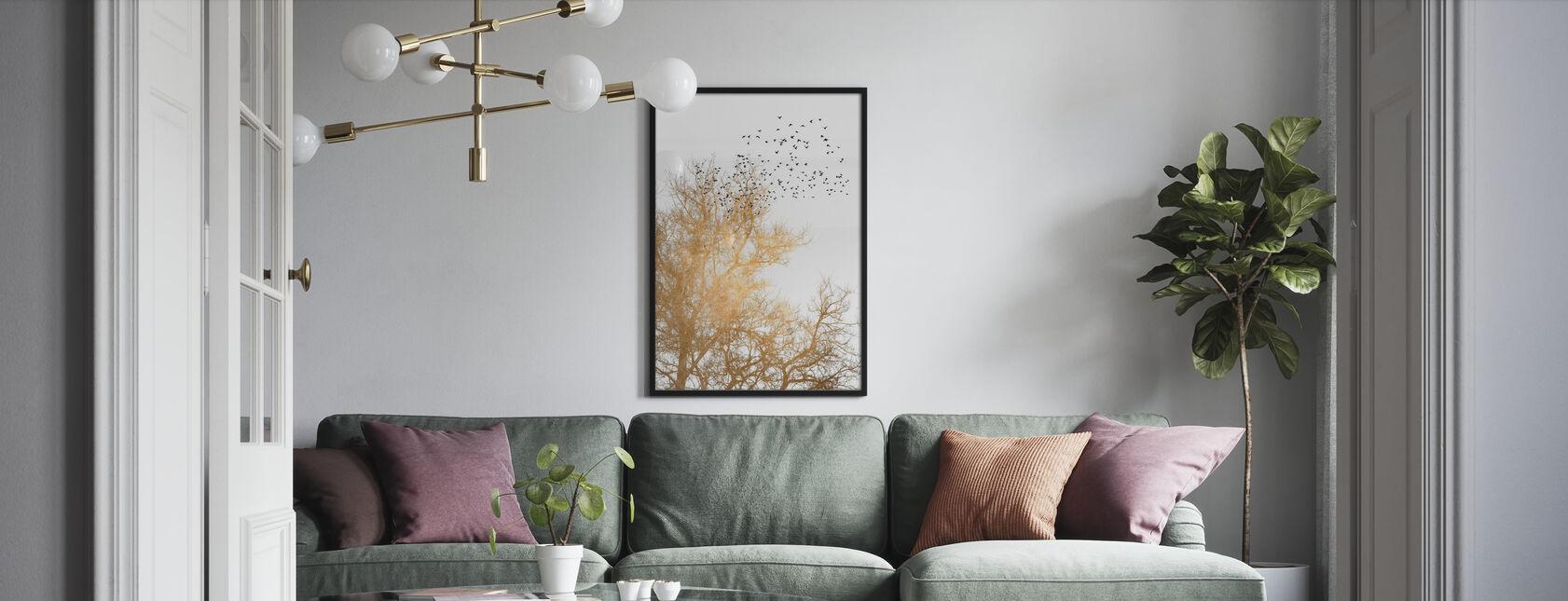 Złote Niebisko - Plakat - Pokój dzienny