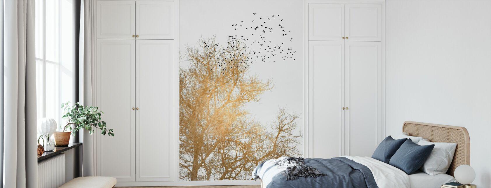 Gyldne himmel - Tapet - Soveværelse