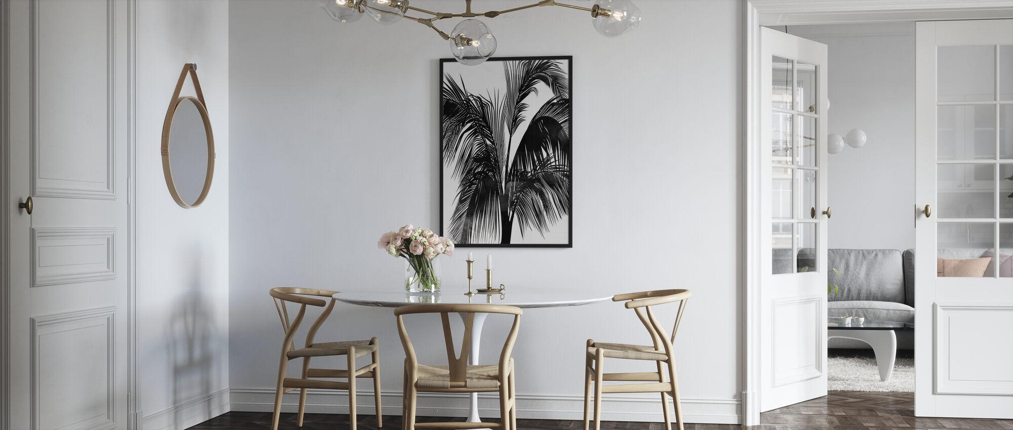 Zonsondergang Boulevard - Ingelijste print - Keuken