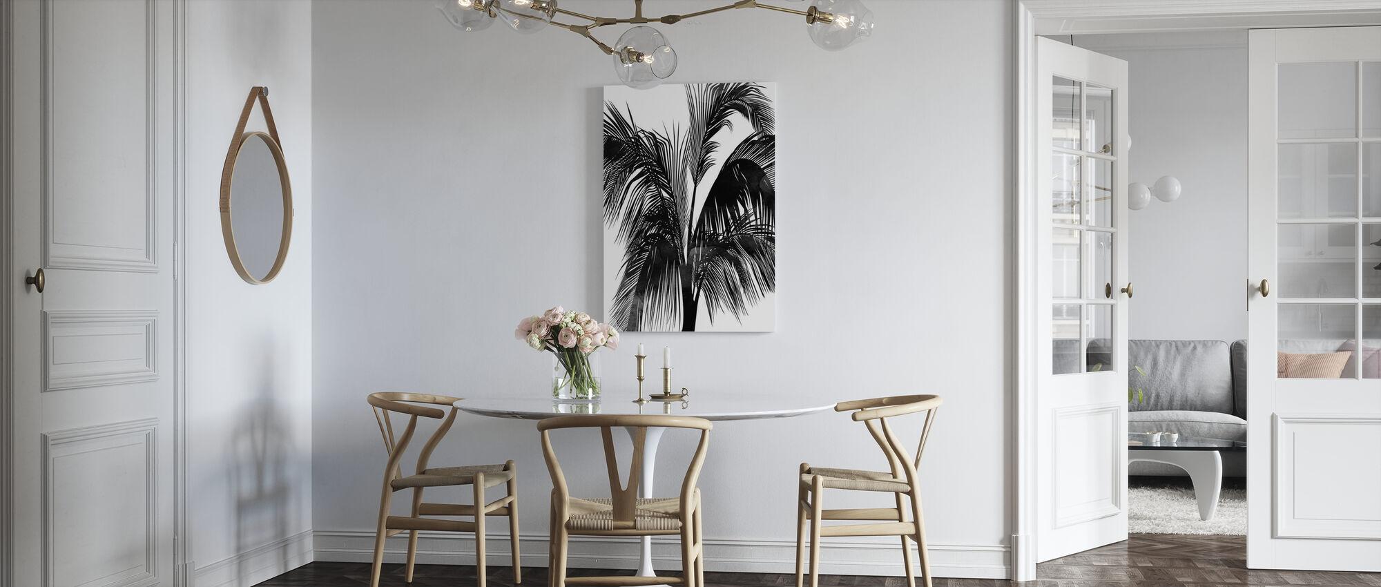 Zonsondergang Boulevard - Canvas print - Keuken