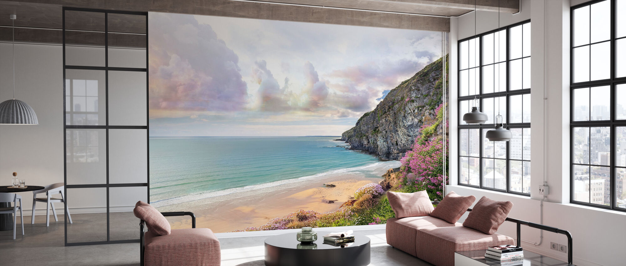 Beautiful Beach Shore - Wallpaper - Office