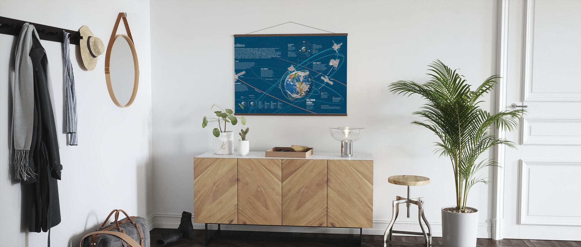 Satellites - Poster - Hallway