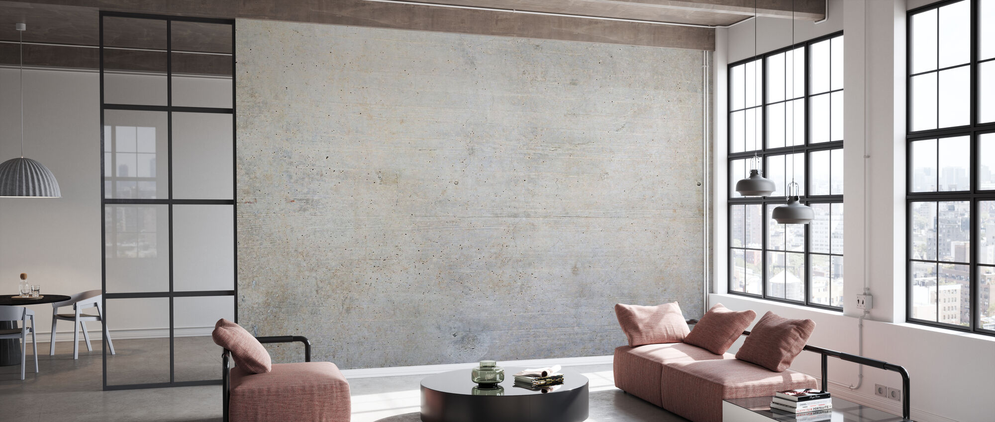 Old Concrete Wall - Wallpaper - Office