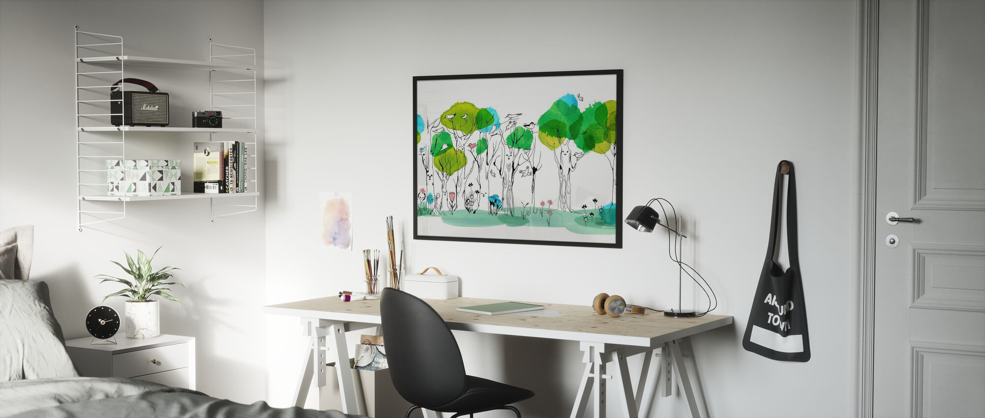 Flüsterender Baum - Poster - Kinderzimmer
