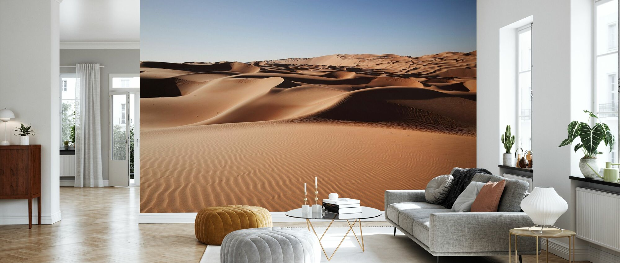 ørken sanddyner - Tapet - Stue