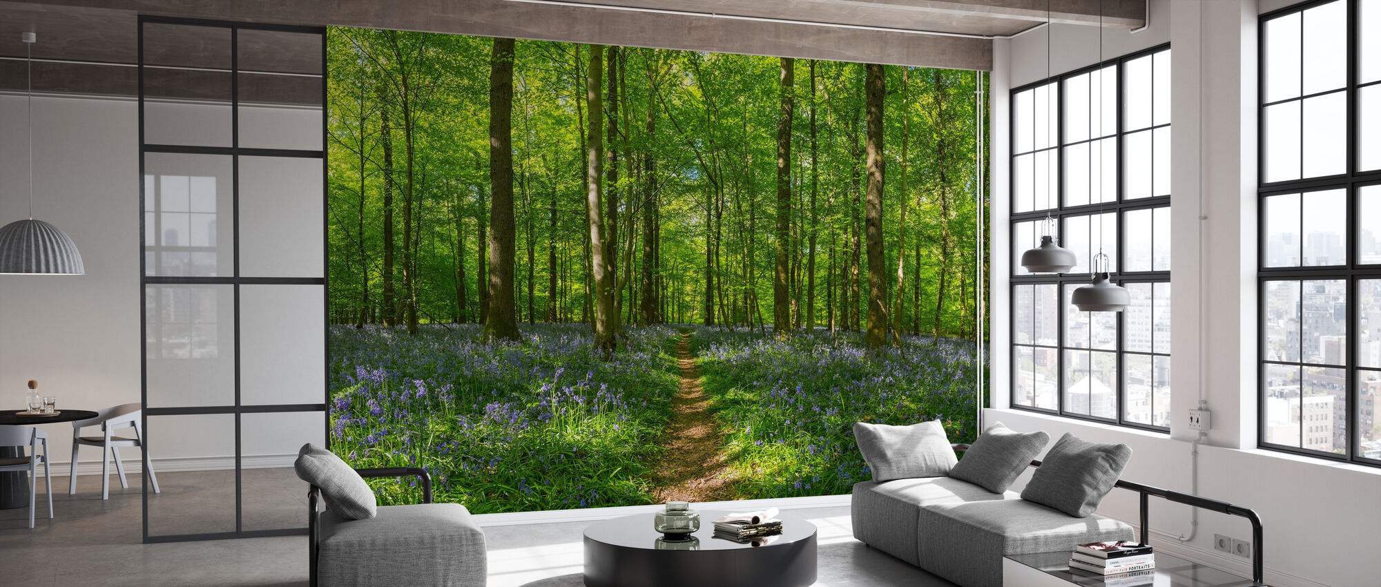 Forest Earth Trail - Wallpaper - Office