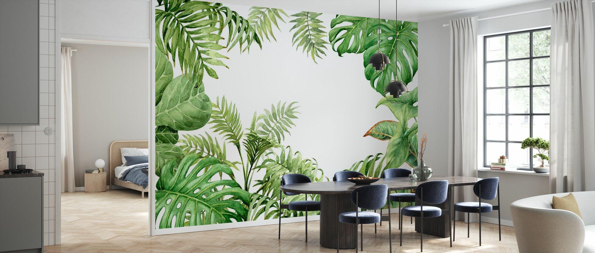 Tropiske planter - Tapet - Kjøkken