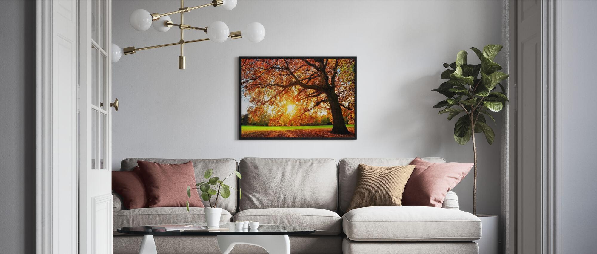 Majestic Oak Tree - Poster - Living Room