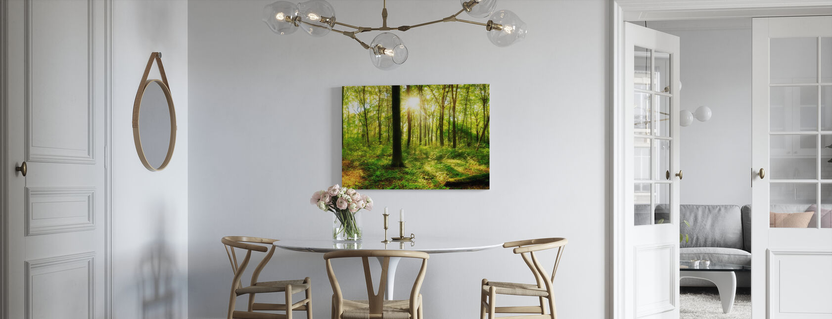 Into the Woodland - Canvas print - Kitchen