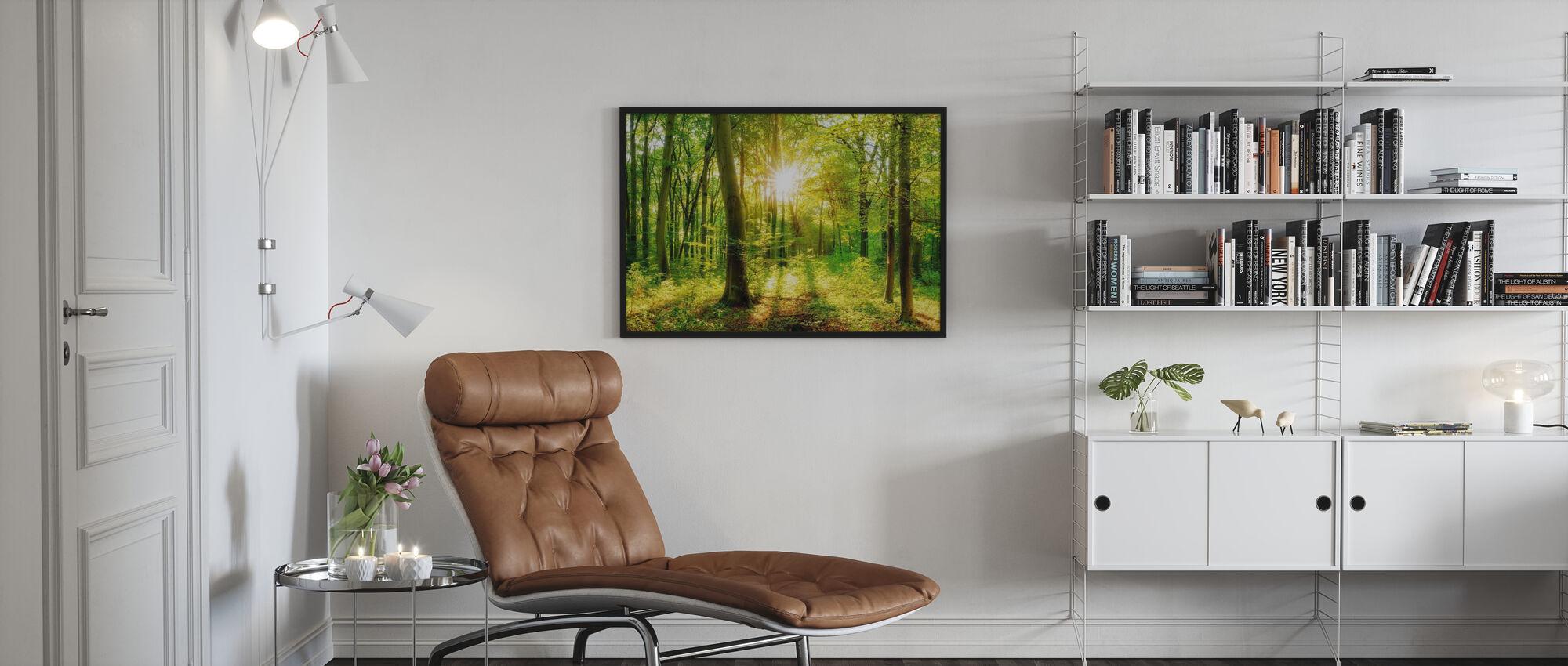 Lassen Sie es glänzen - Poster - Wohnzimmer