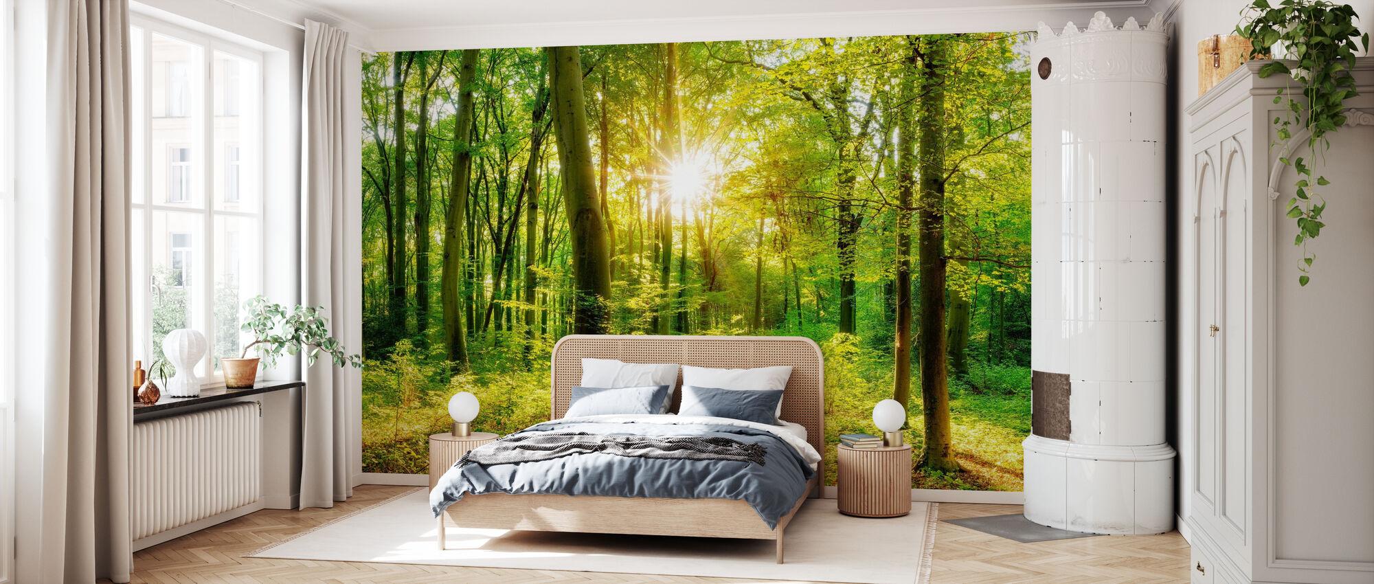 Lassen Sie es glänzen - Tapete - Schlafzimmer