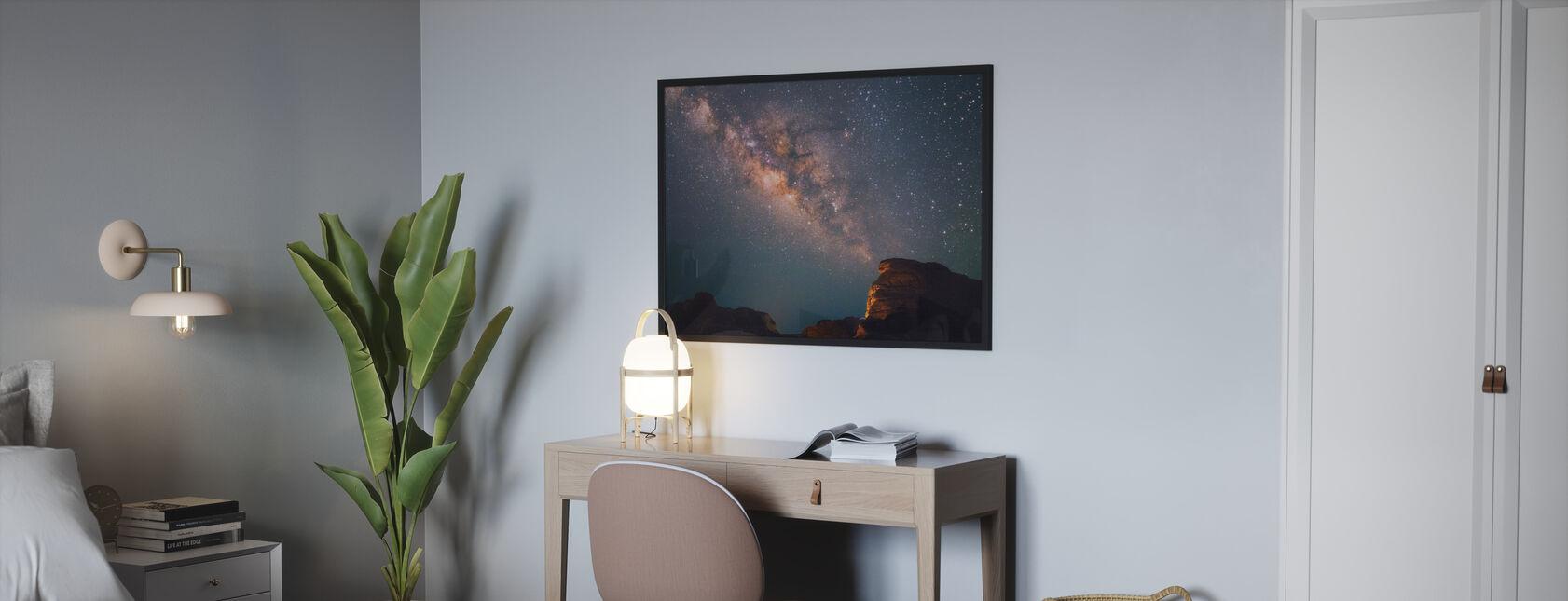 Stjärnor ovanför Grand Canyon - Poster - Sovrum