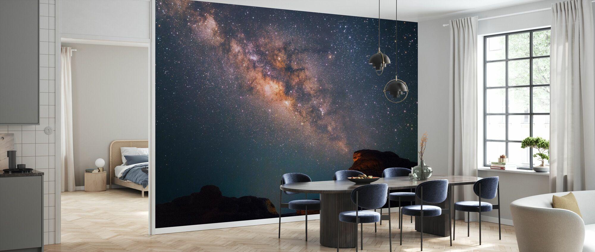 Stars Above Grand Canyon - Wallpaper - Kitchen
