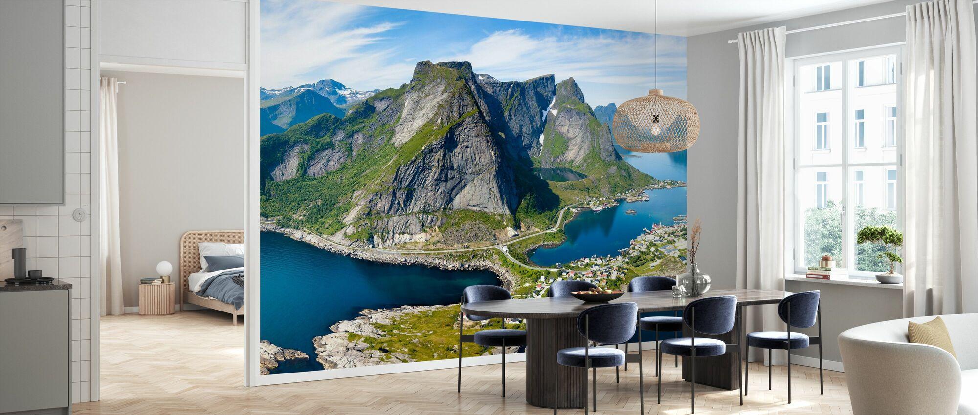 Rene Island - Tapet - Kjøkken