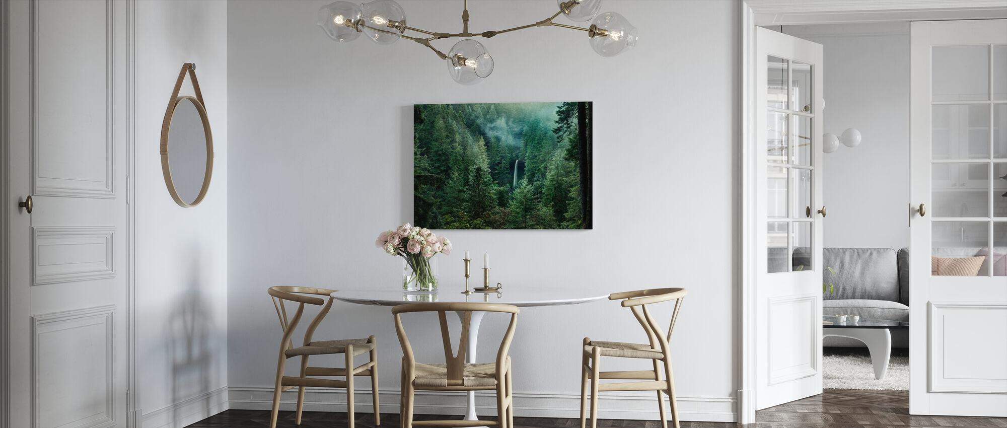 Silver Falls State Park - Canvas print - Kitchen