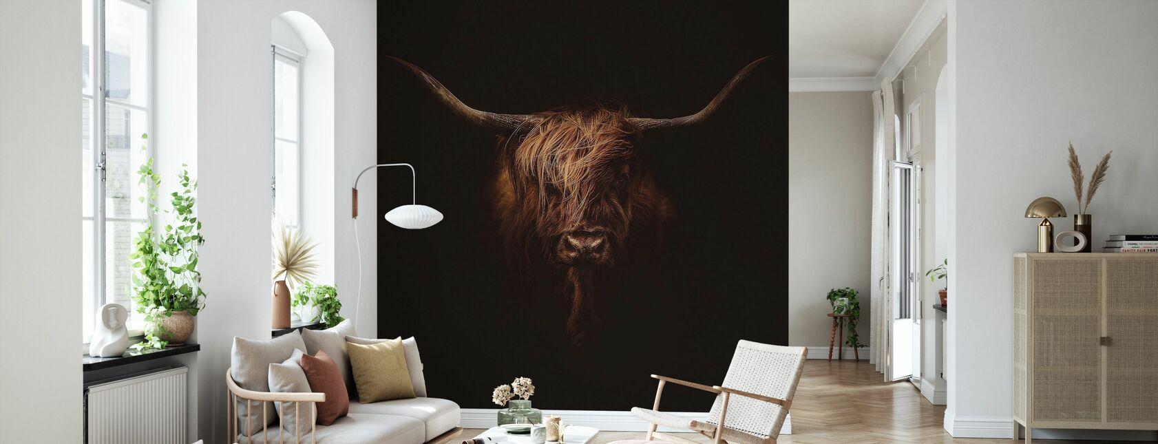 Scottish Highland Cattle - Wallpaper - Living Room
