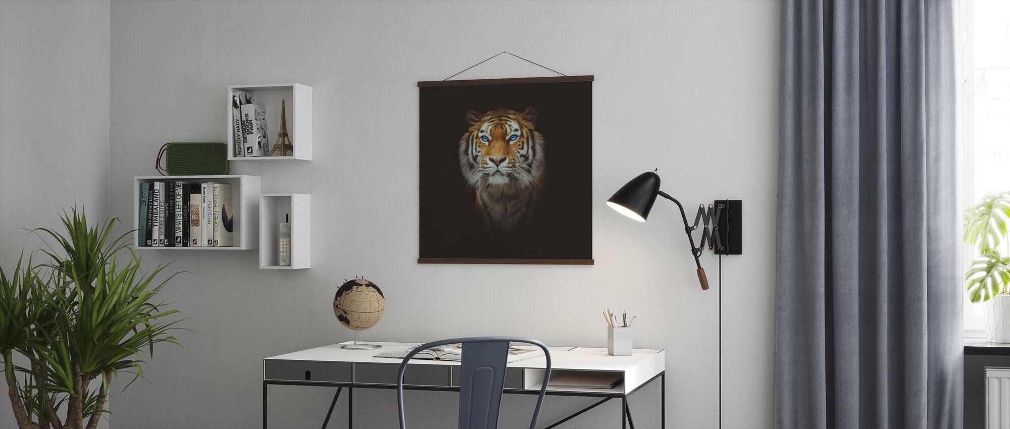 Auge des Tigers - Poster - Büro