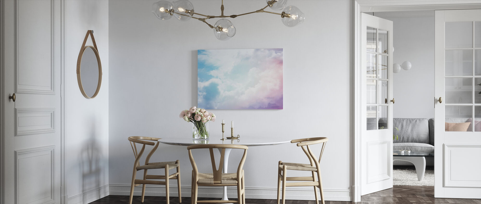Cloudy Sky - Canvas print - Kitchen