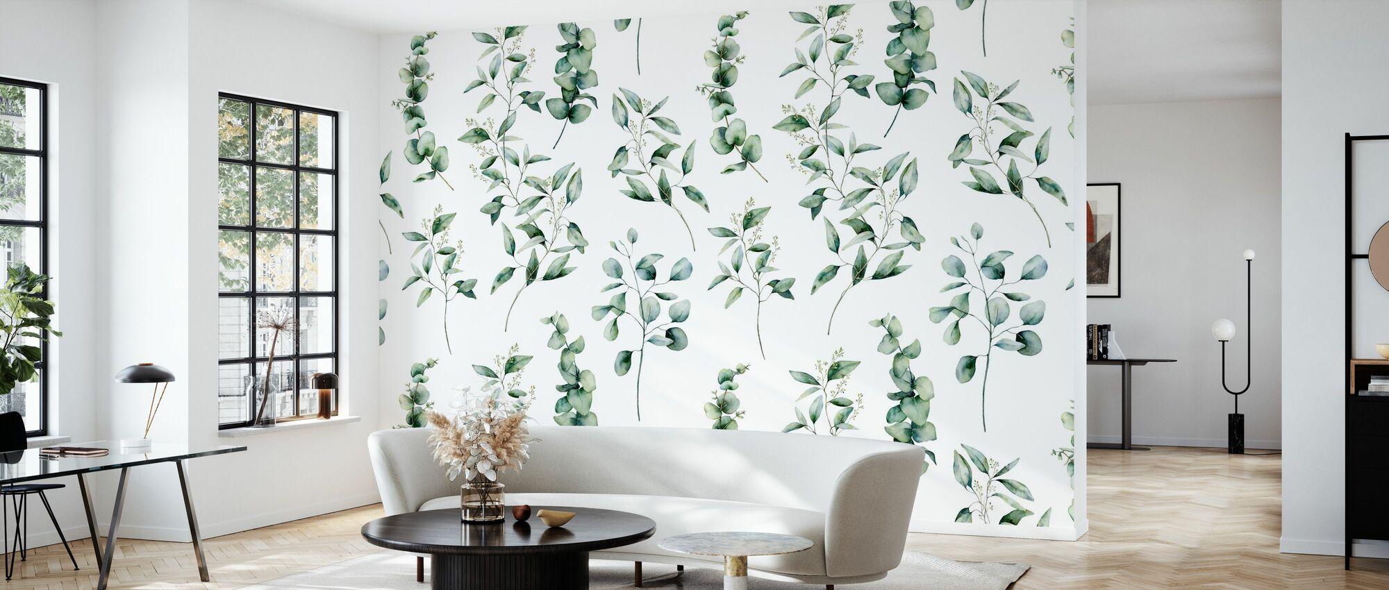 Eucalyptus - Wallpaper - Living Room
