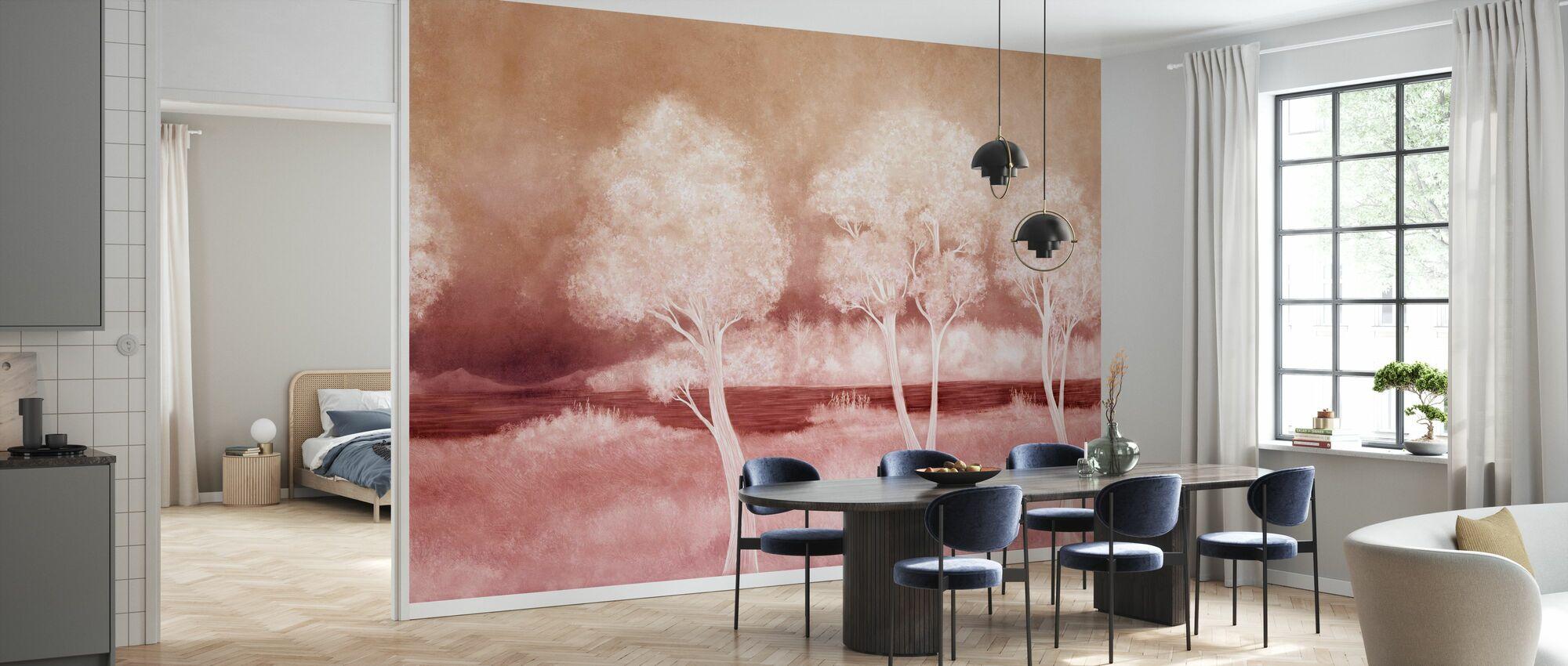 Bonny Landschaft - Wein - Tapete - Küchen