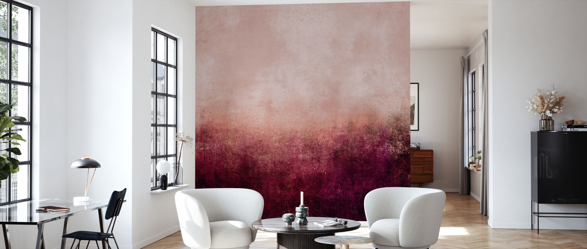Life In Pink - Wallpaper - Living Room