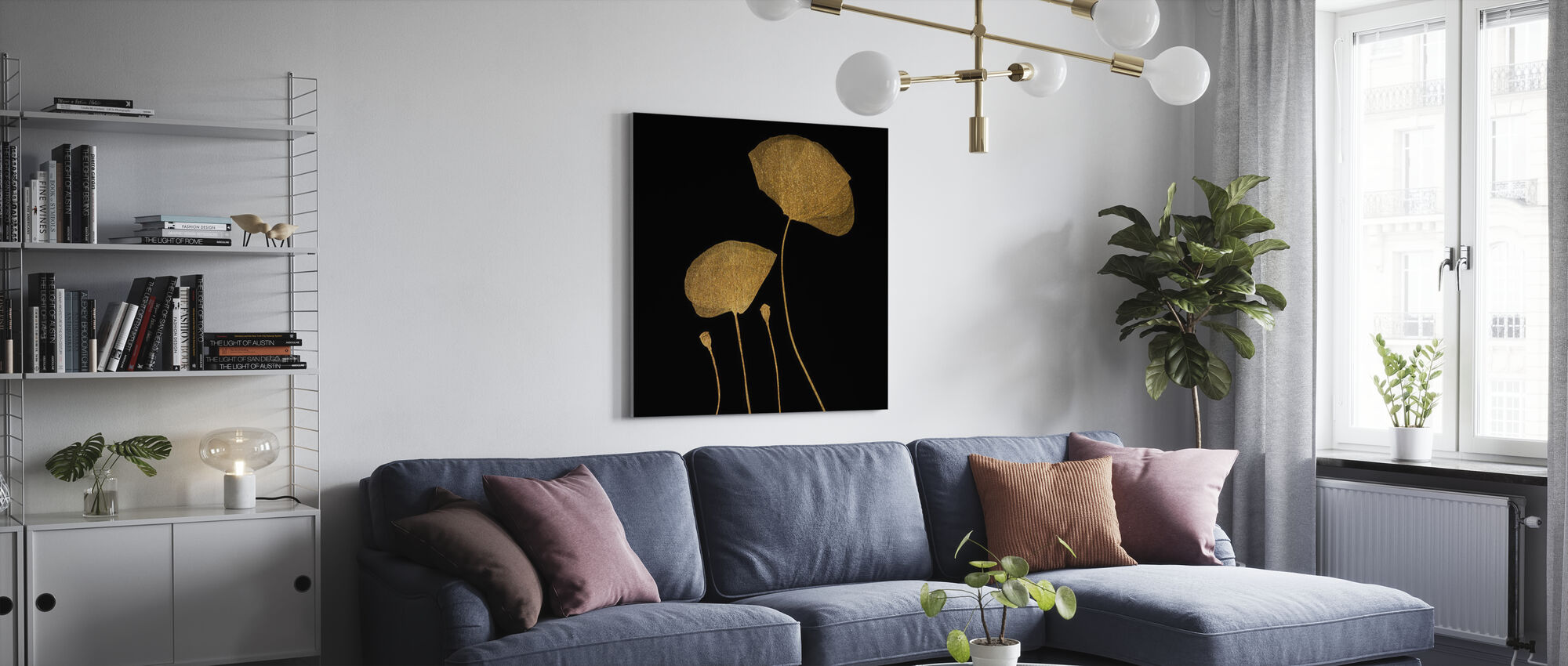 Moonshine Dancers - Canvas print - Living Room