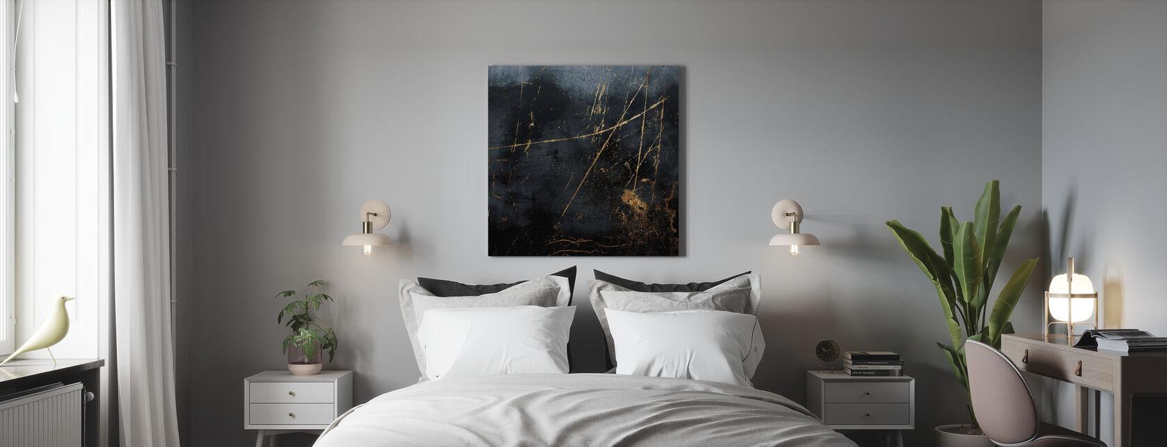 Saffier - Canvas print - Slaapkamer