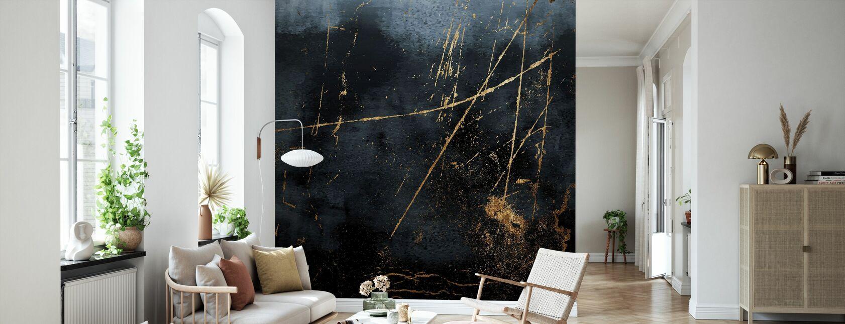 Sapphire - Wallpaper - Living Room
