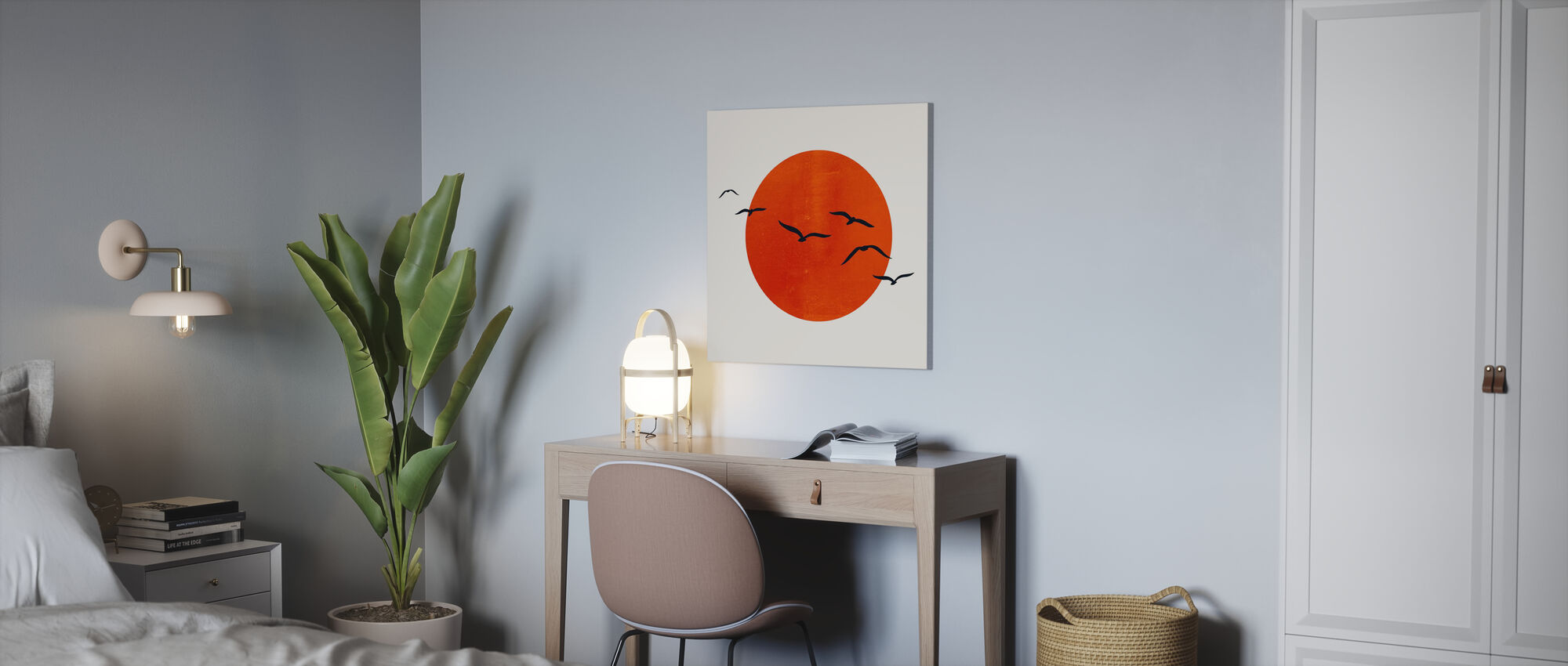 Up in the Sky - Canvas print - Office