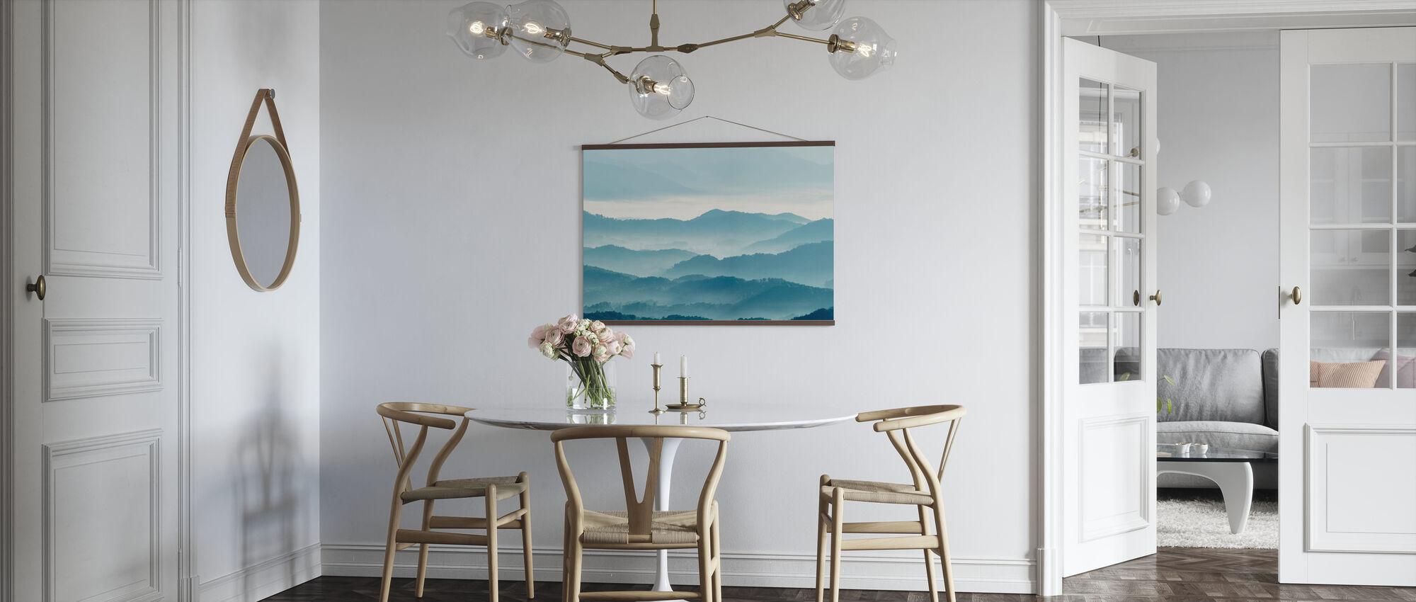 Misty Mountains - Poster - Kitchen