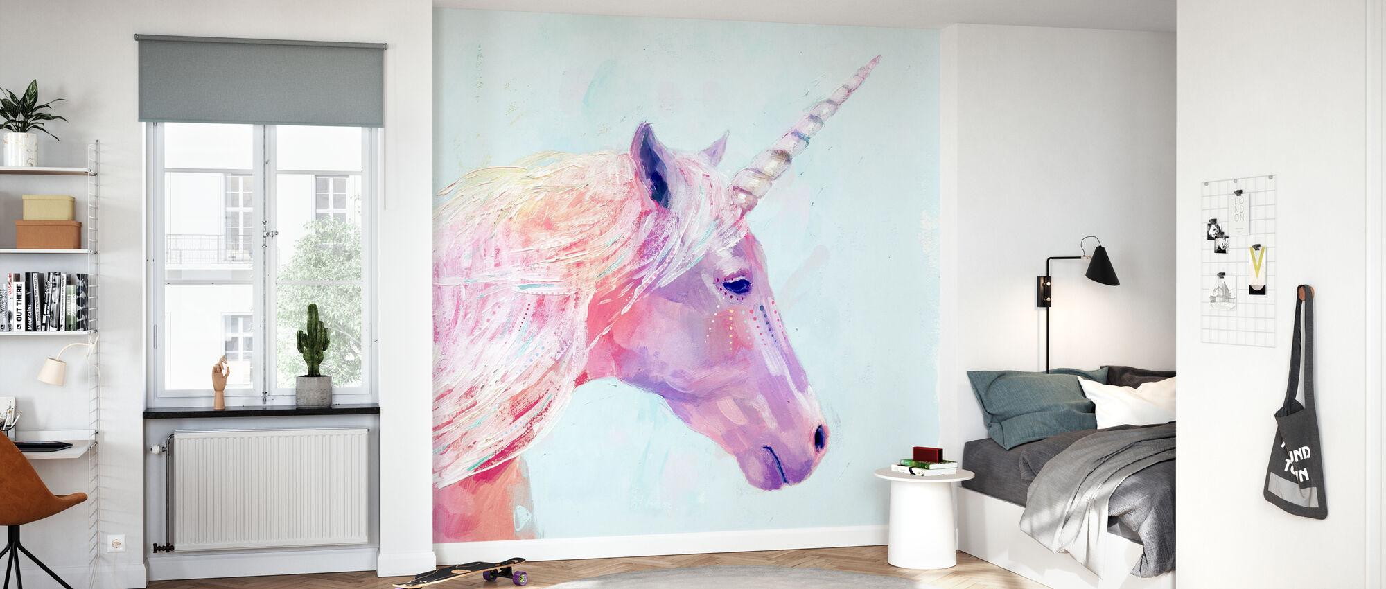 Mystic Unicorn - Wallpaper - Kids Room